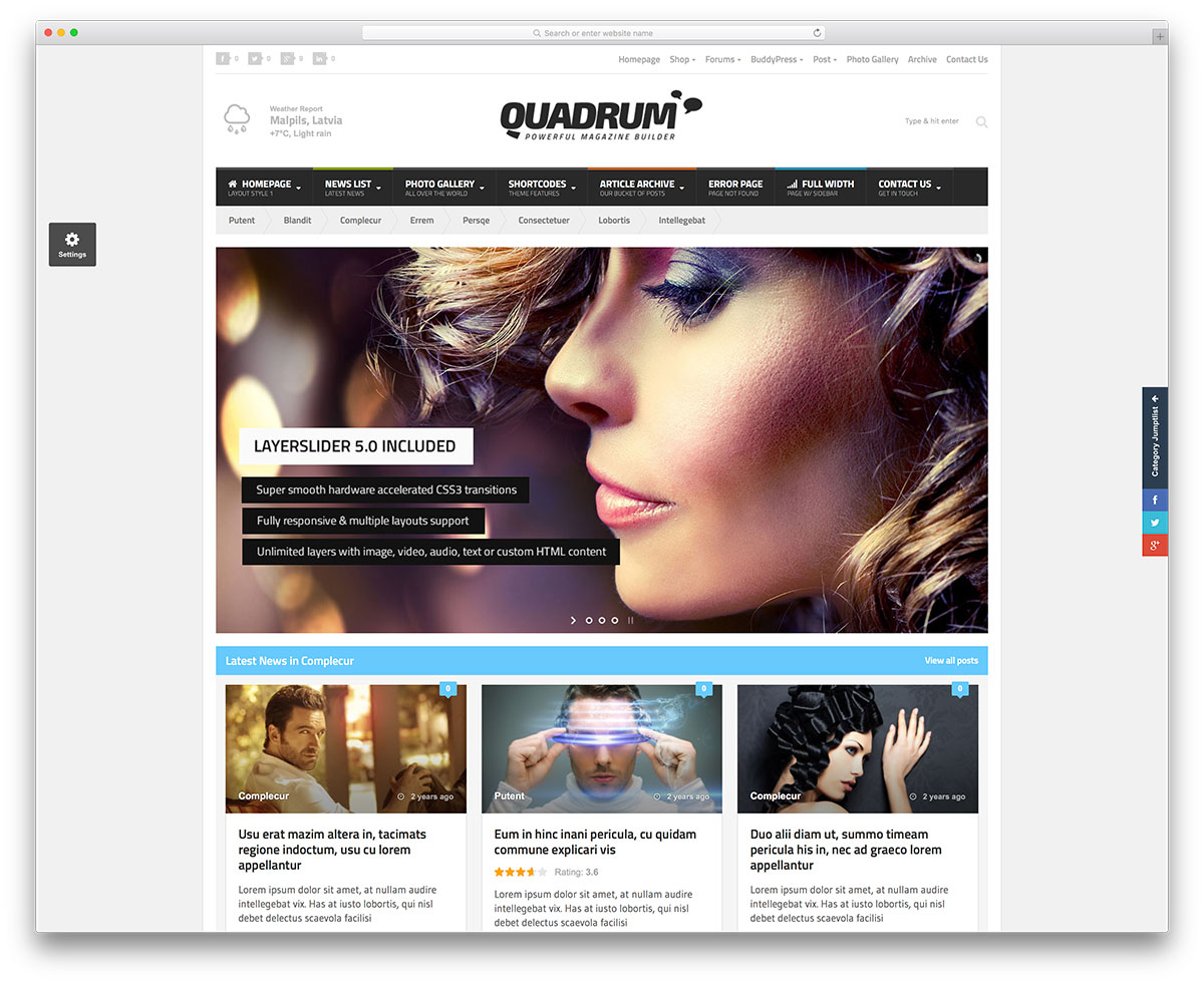34 Best Wordpress Newspaper Themes For News Sites 2018 Colorlib