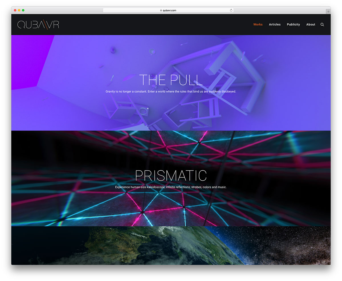 qubavr-parallax-wordpress-website-example
