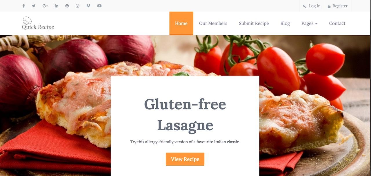 quick-recipe-food-recipes-wordpress-theme-CL