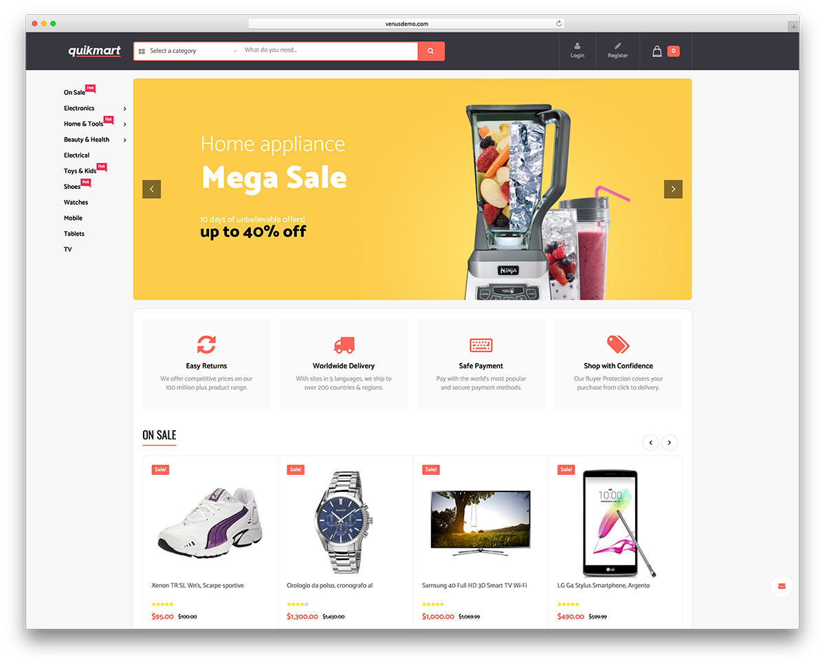 28 Best Technology WooCommerce Themes For Online Gadget Stores 2018 ...