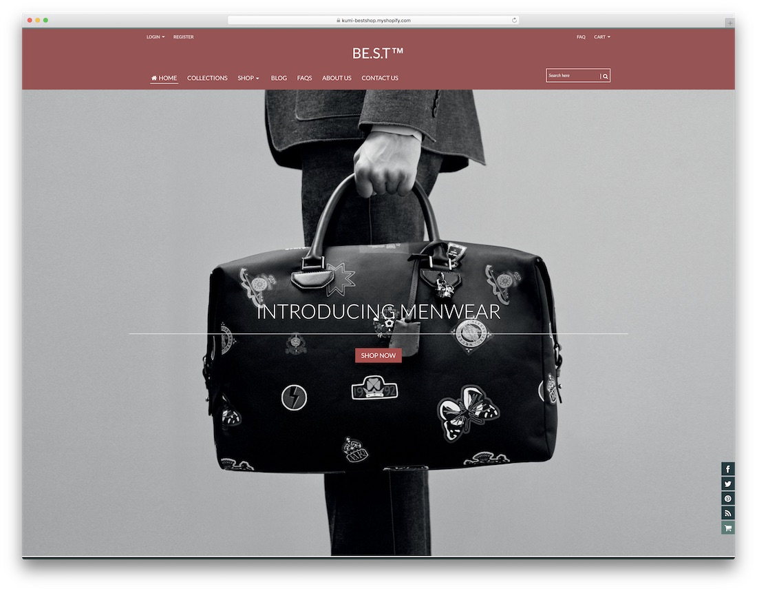 quickshop fashion shopify theme