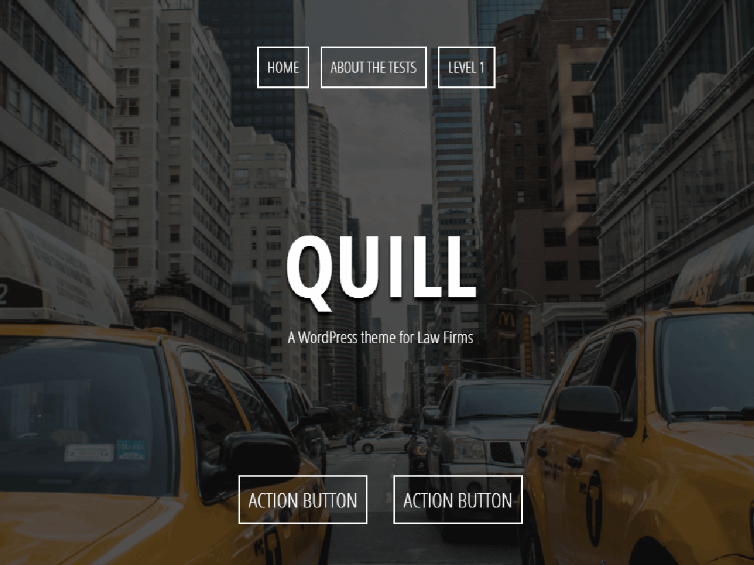 Quill WordPress Theme for Law Websites