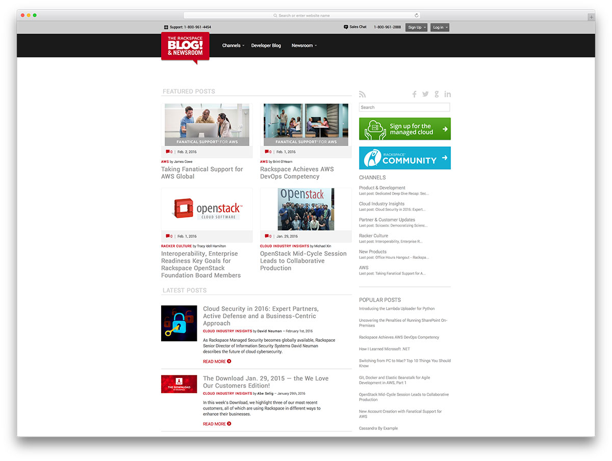 rackspace-blog-based-on-wordpress