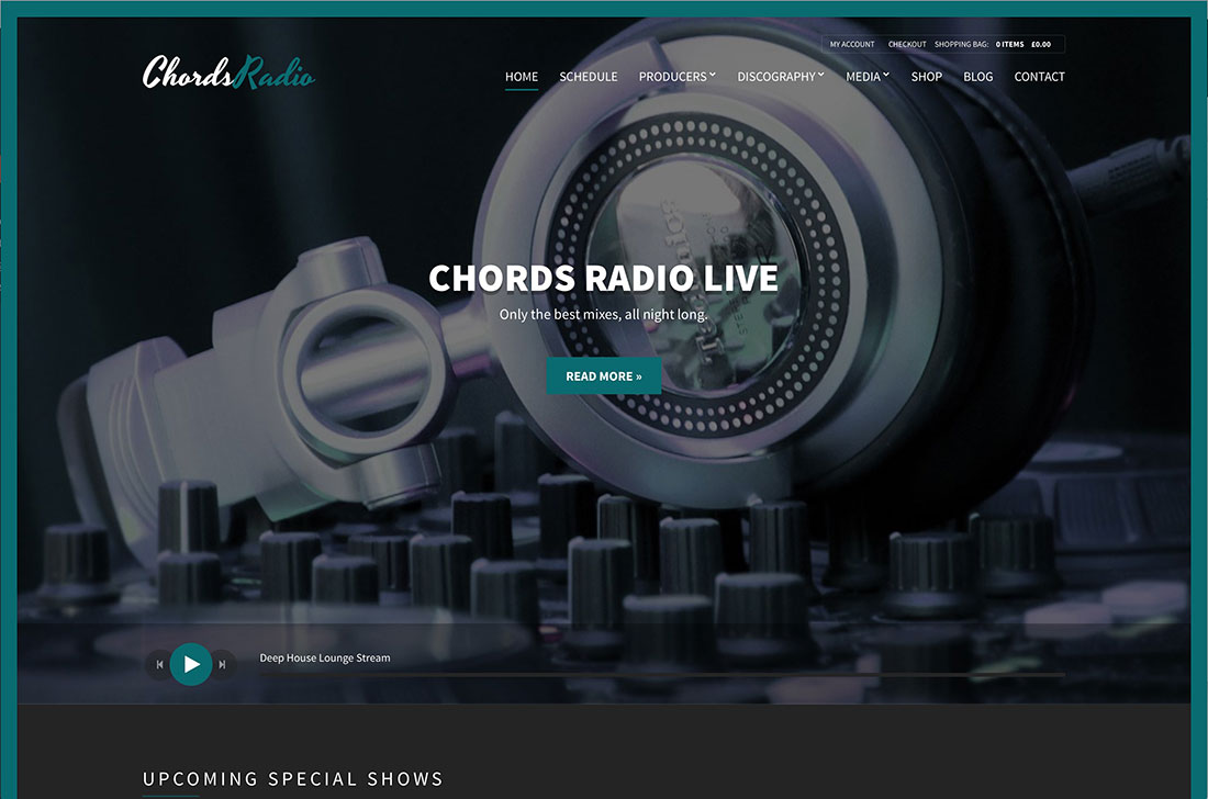 Top 10 Popular WordPress Radio Station Themes 2017 - Colorlib