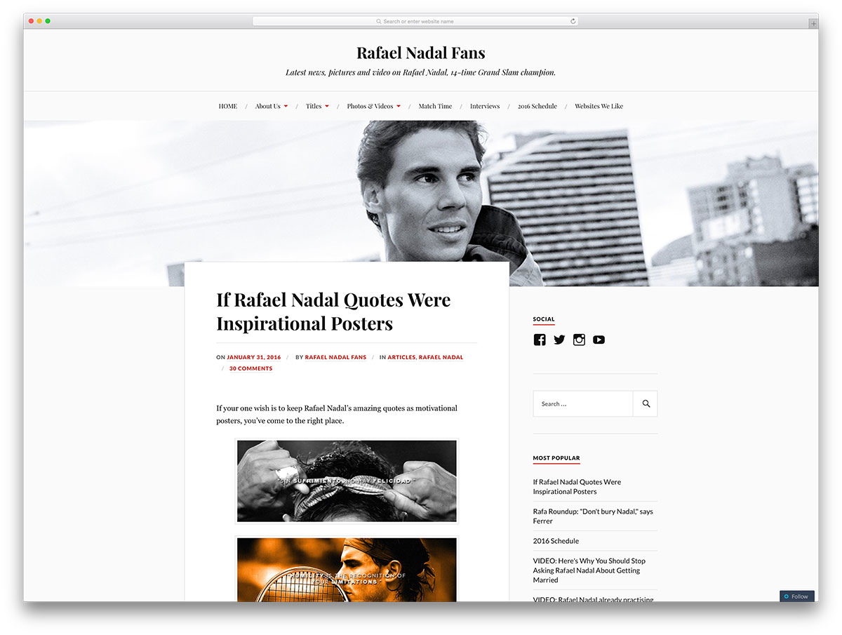 rafaelnadalfans-blog-using-wordpress-cms