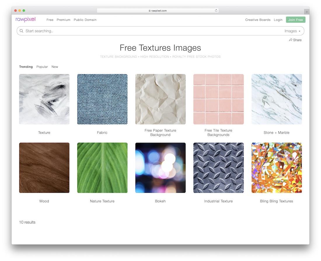 rawpixel free textures resource