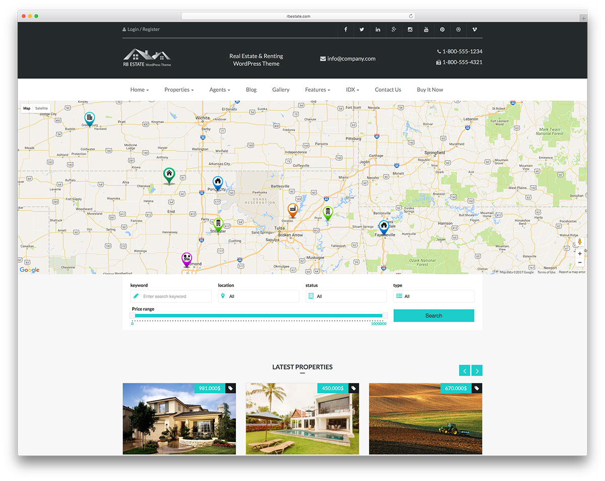 Rbestate is a real estate oriented wordpress theme it serves a link for large companies expanding their number of clients it comes with amazing searching