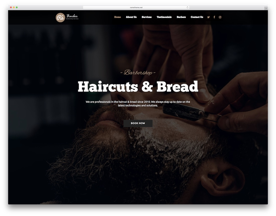 re clean adobe muse template
