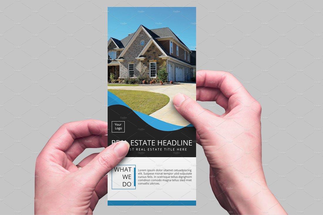 real estate rack card v07