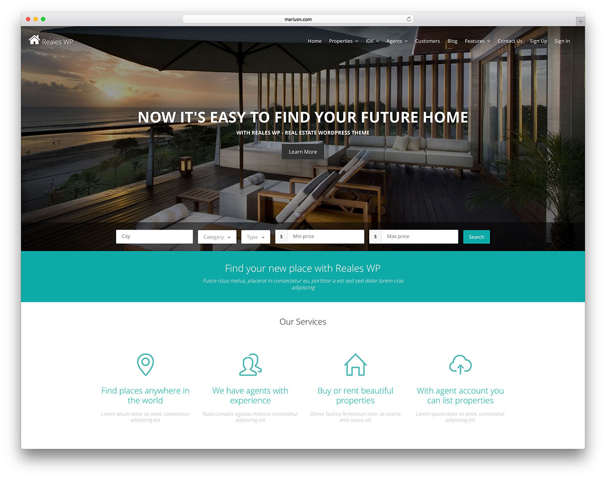 33 Best Real Estate Wordpress Themes For Agencies Realtors And