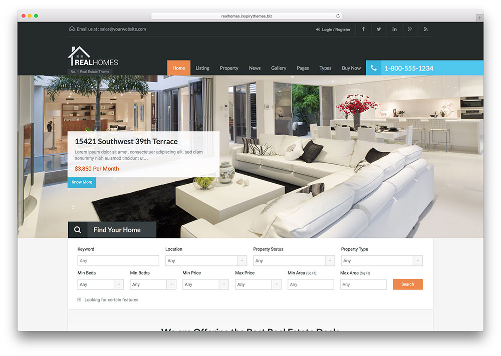 realhomes-best-realtor-wordpress-theme