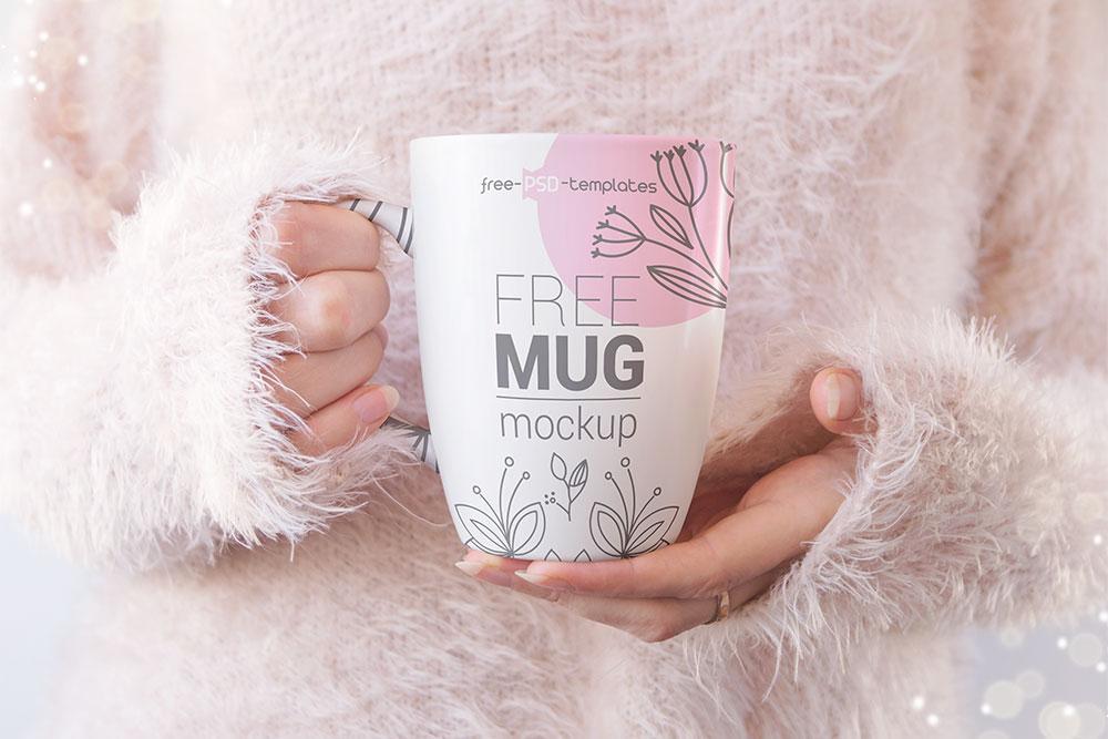realistic mug mockups