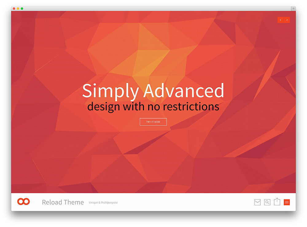 reaload multipurpose fullscreen theme