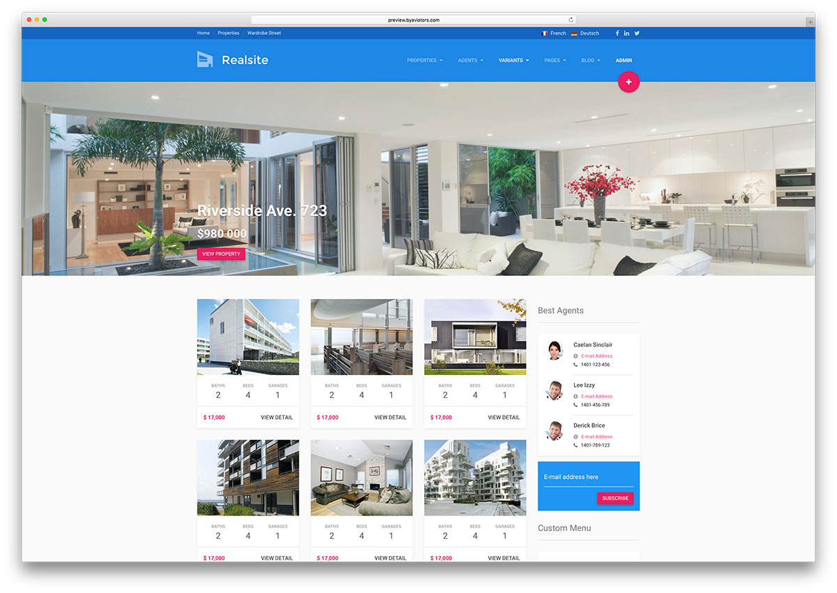 realsite-material-design-real-estate-template