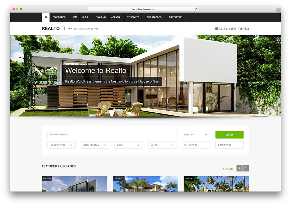 realto-modern-real-estate-theme