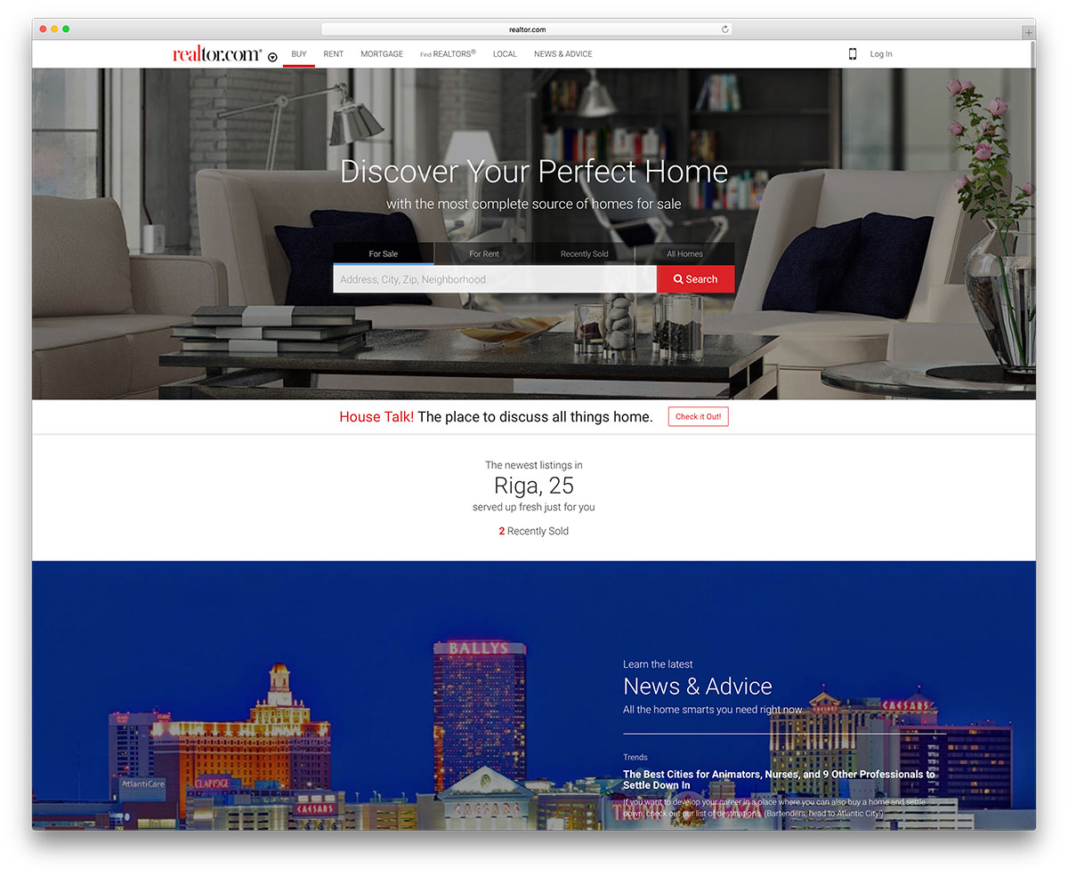 realtor-website-example-using-wordpress-cms