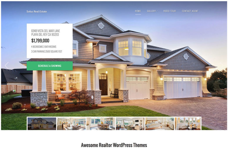 Top 15 Realtor WordPress Themes For Business Or Real Estate Listing Type Websites 2018