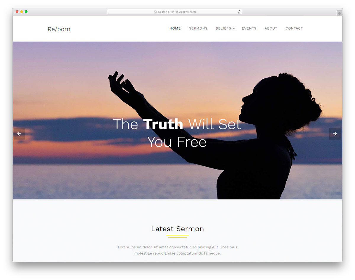 24 Best Free Church Website Templates 2019 - Colorlib