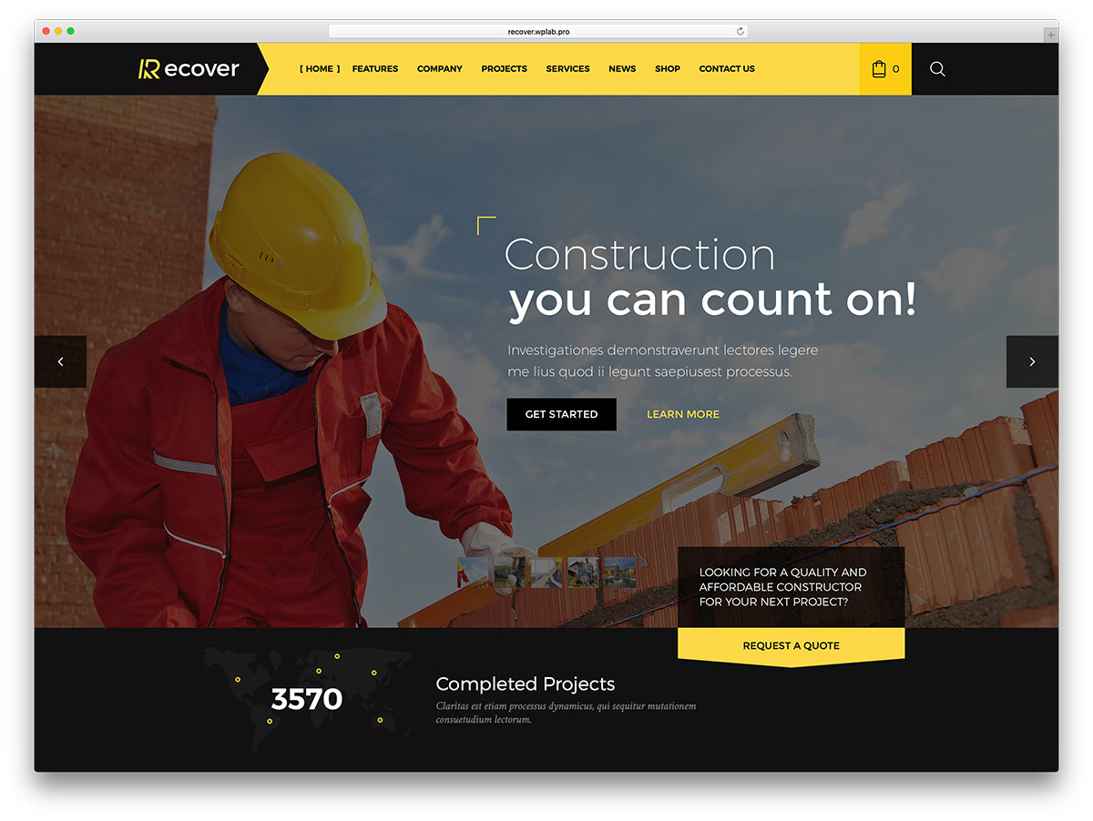 recover-construction-company-website-wp-template