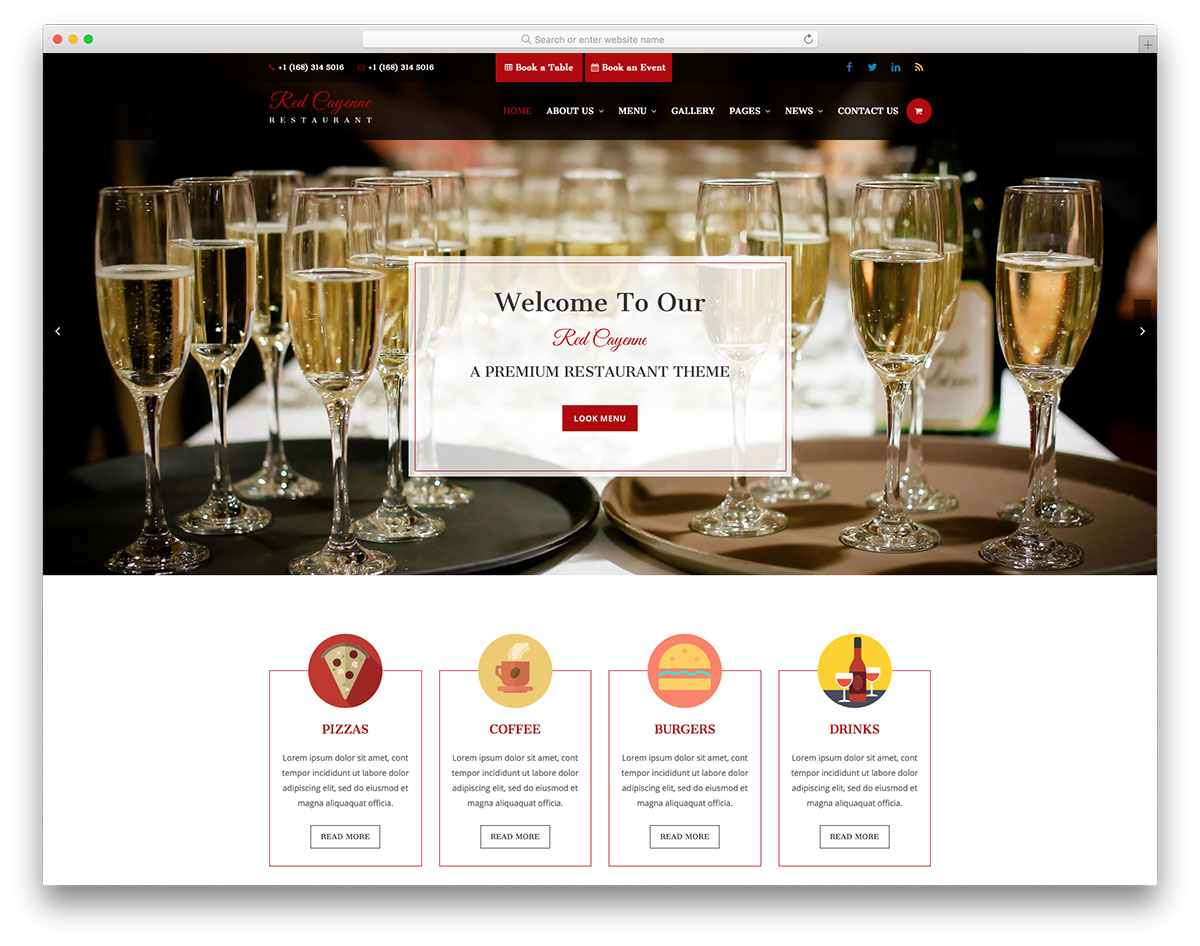 17 best free restaurant website template 2018 colorlib redcayenne free template maxwellsz