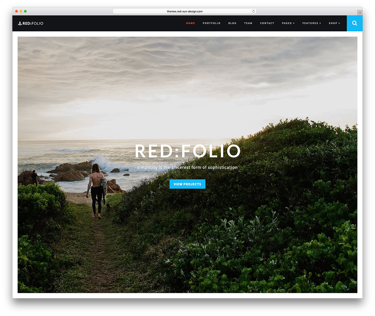 redfolio-photography-portfolio-website-theme