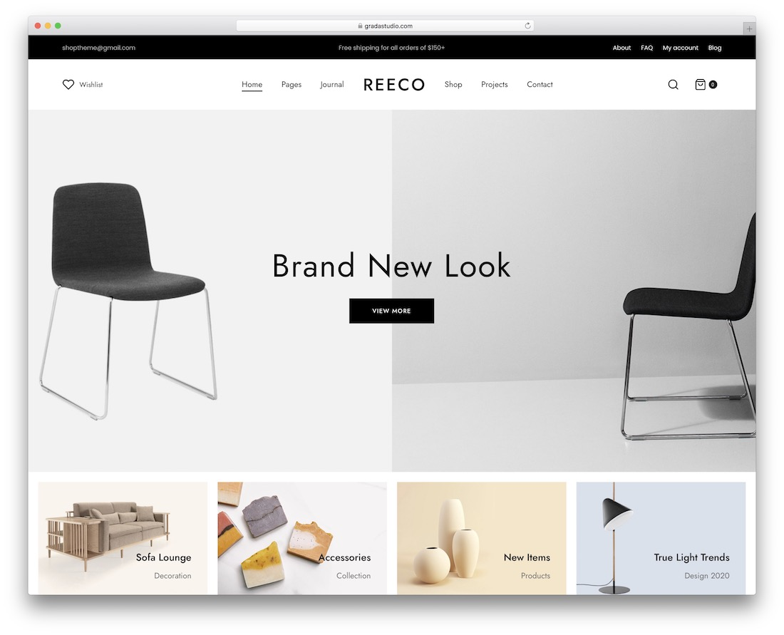 reeco simple bootstrap theme