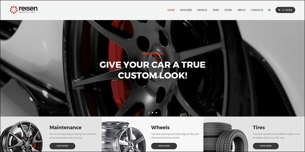 Reisen | Automechanic & Car Repair Theme