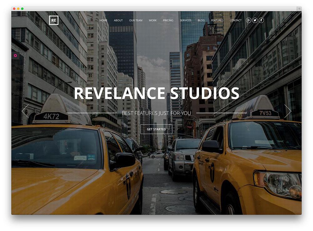 revelance metropolitan consulting company theme