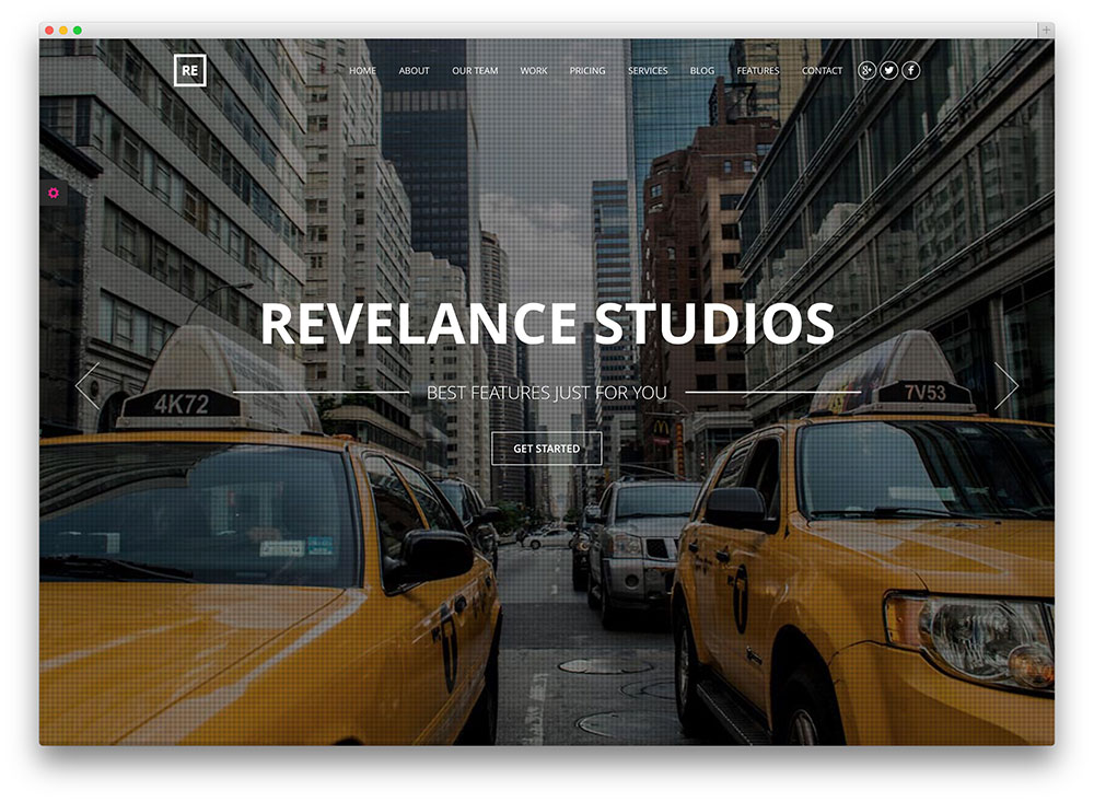 relevance creative business theme