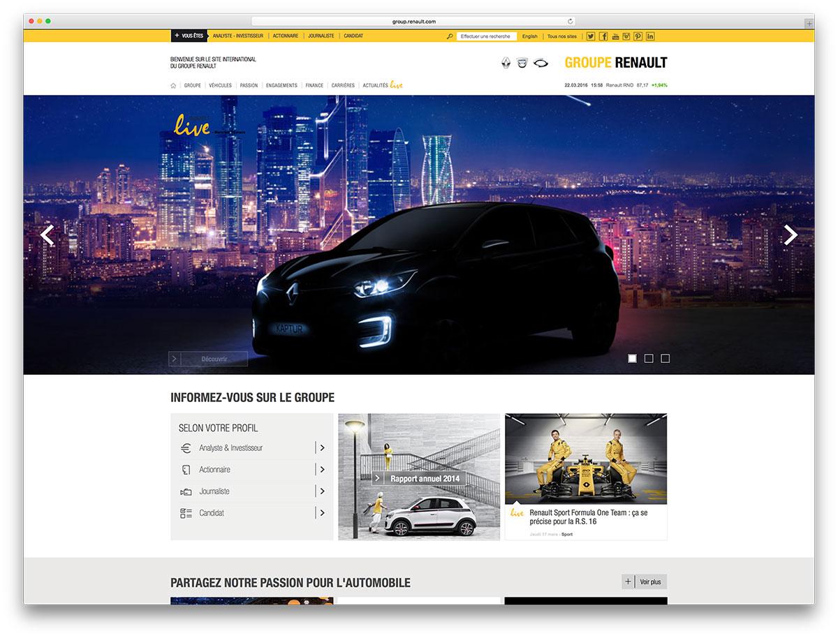 renault-automotive-site-example-using-wordpress