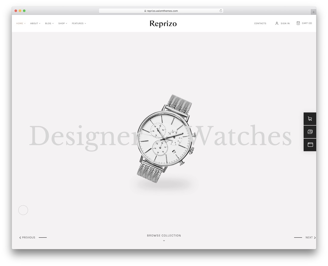 reprizo jewelry wordpress theme