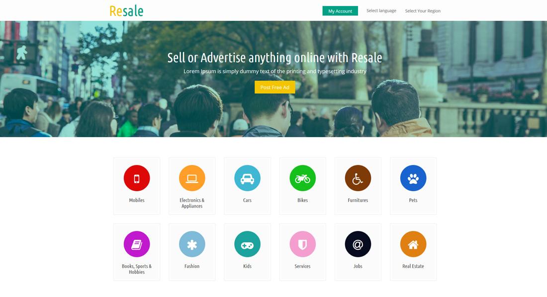 resale-bootstrap-social-network-templates
