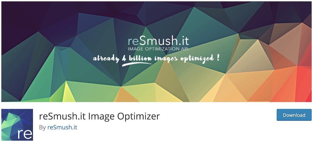 resmushit image compression plugin