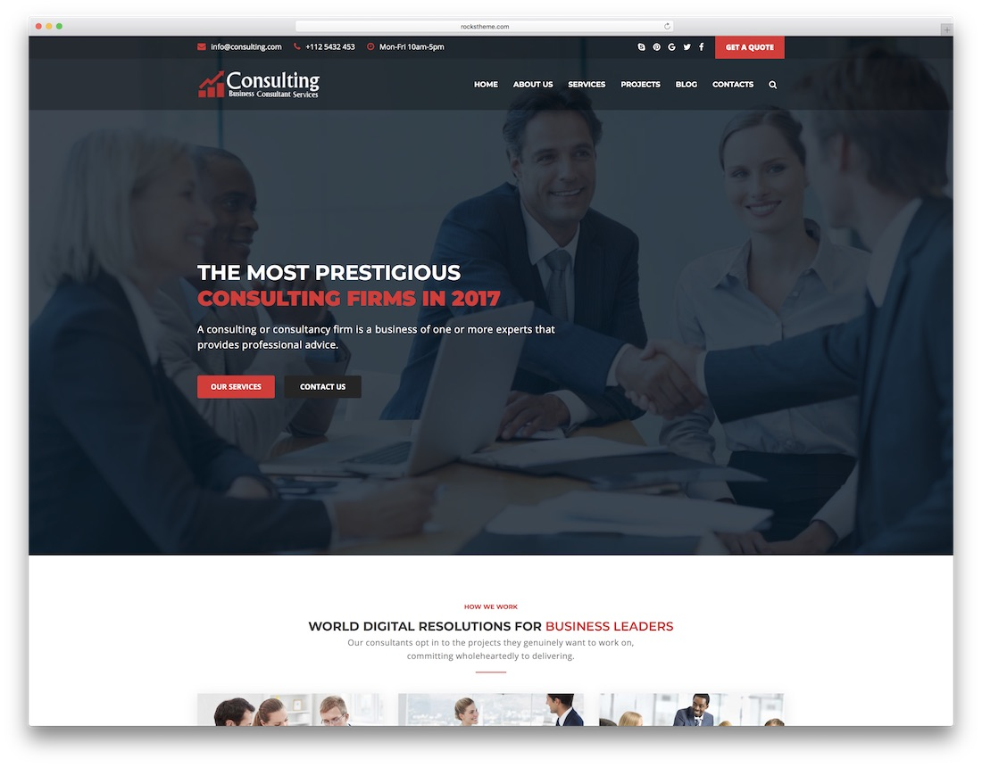 28 best consulting website templates 2018 colorlib responsive consulting website template friedricerecipe Images