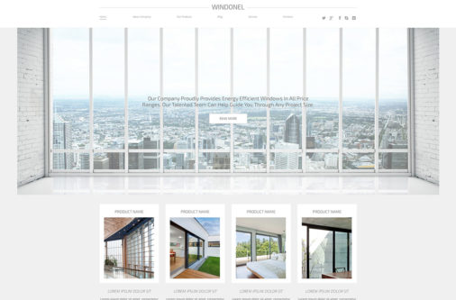 Responsive Minimal Wordpress Themes