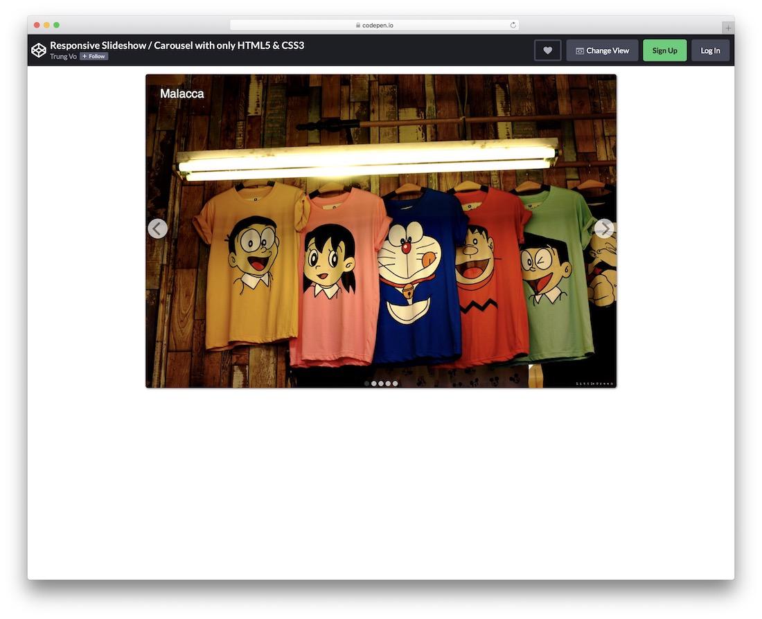 responsive slideshow
