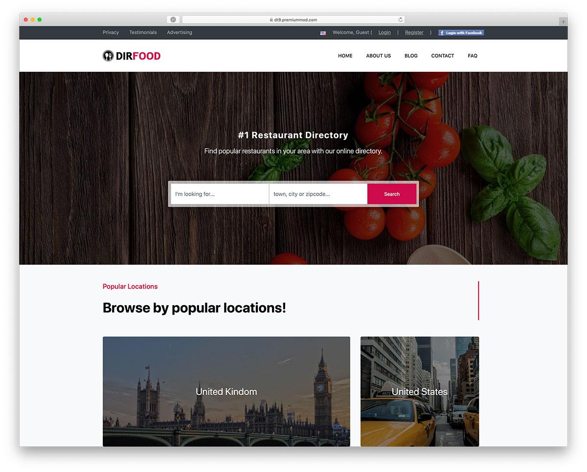 30 Best Directory Wordpress Themes 2020 Expert Pick