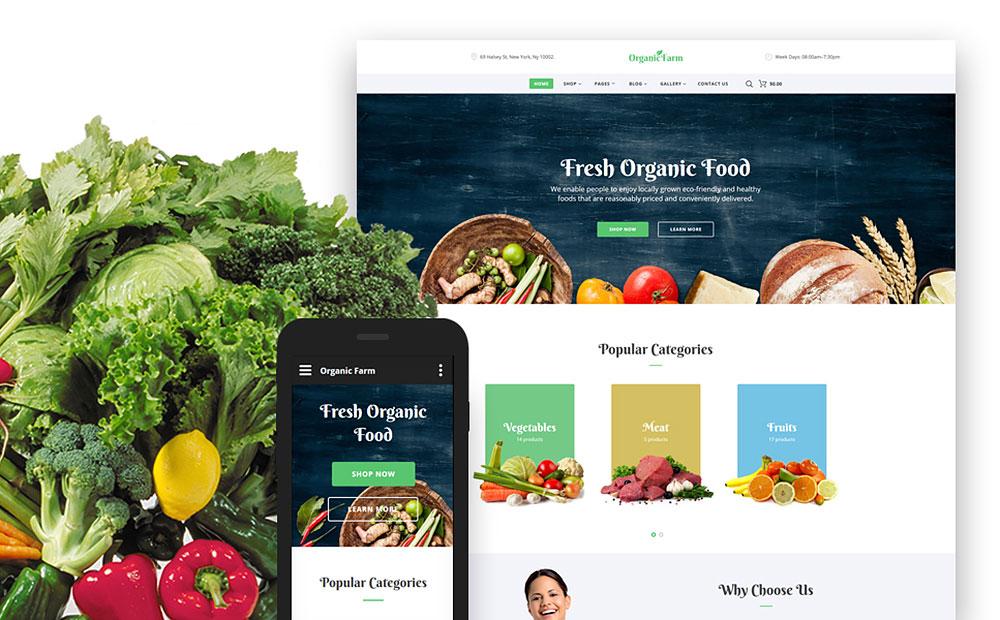 Food & Drink Responsive Website Template