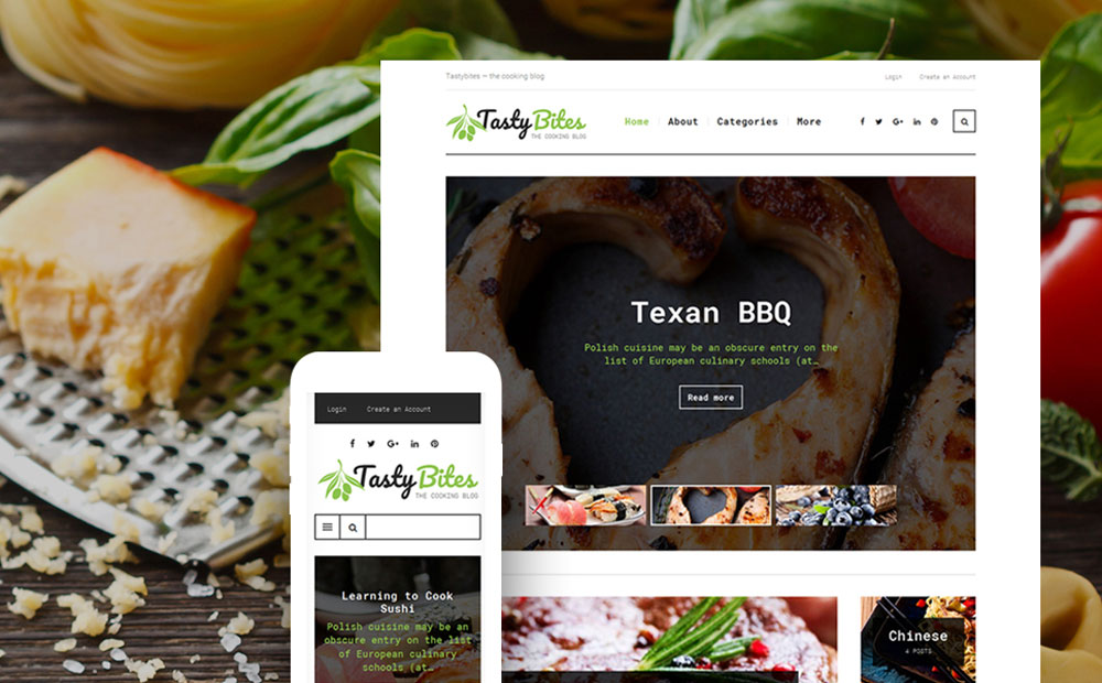 Food And Beverages WP Theme