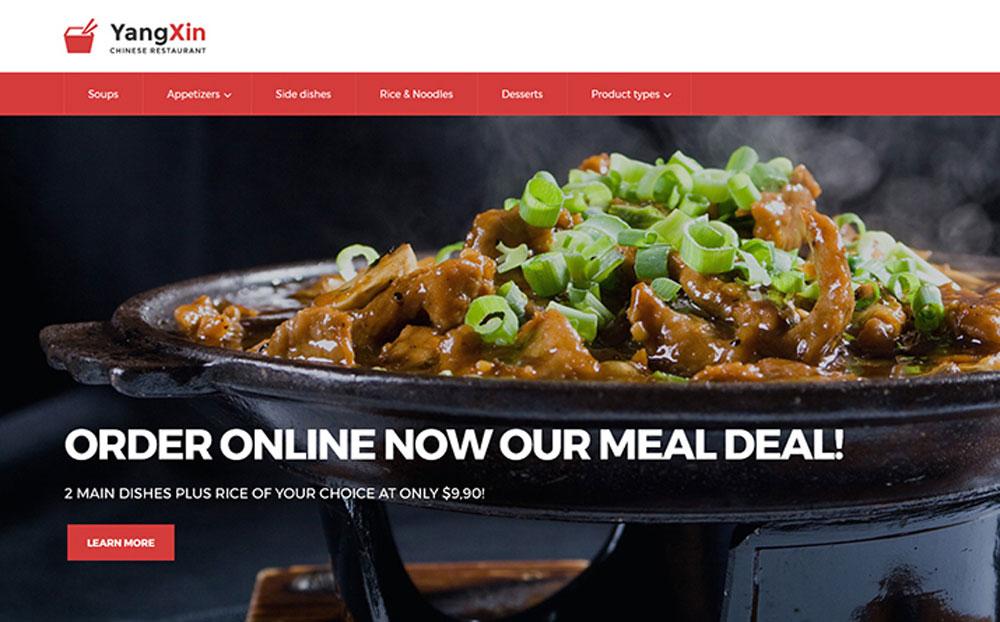 YangXin - Chinese Restaurant Magento 2 Theme
