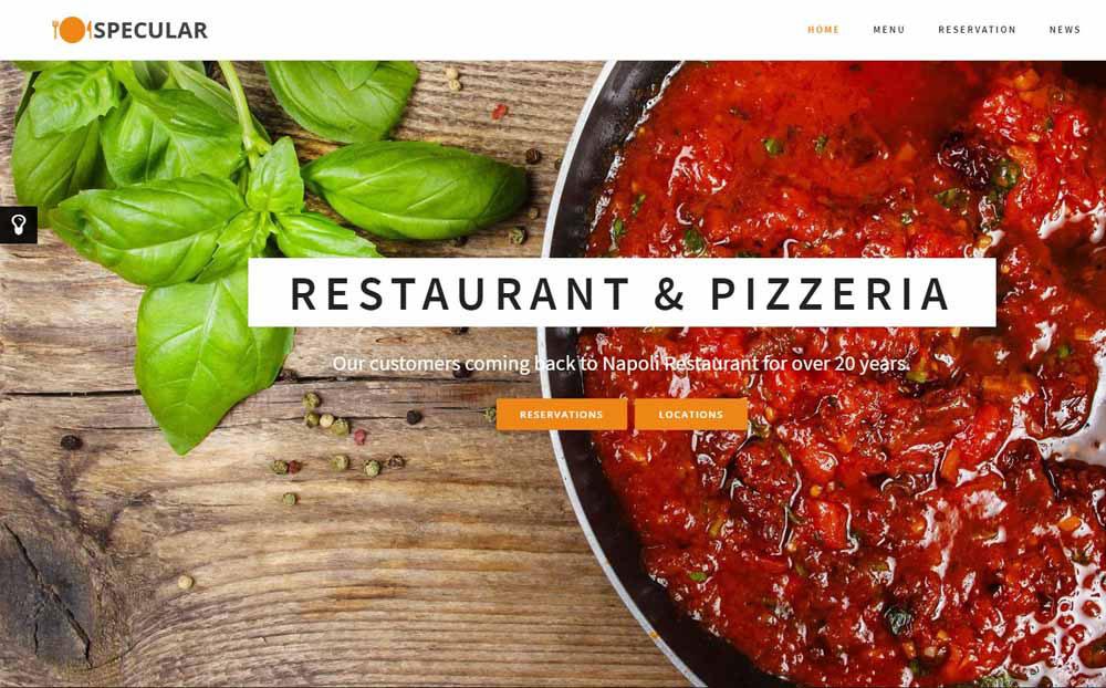 Specular: Restaurant & Pizzeria