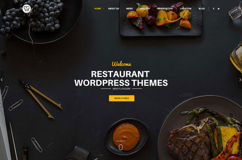 30+ Best WordPress Restaurant Themes To Create A Responsive Restaurant Website 2017