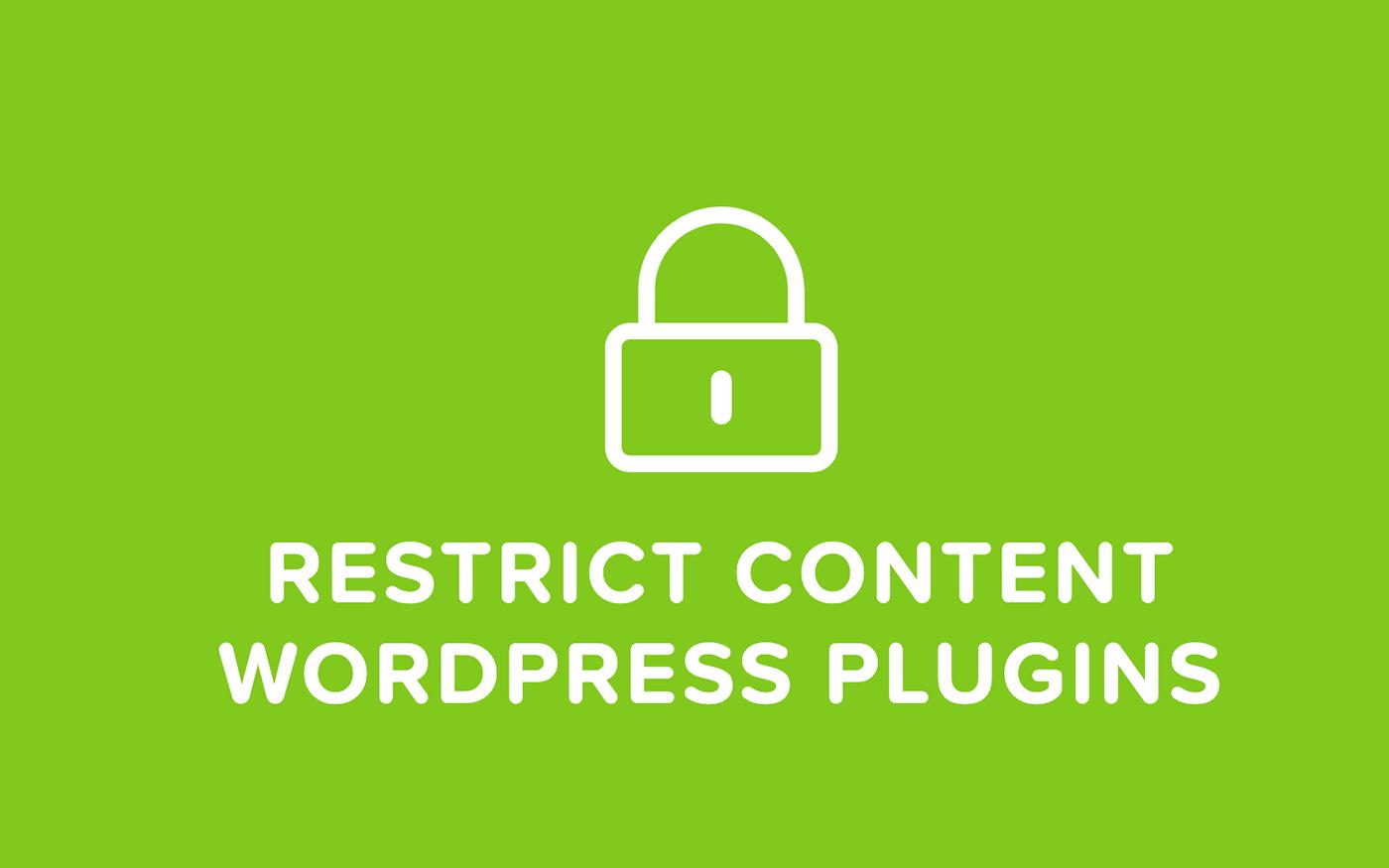 Top 5 Restrict Content WordPress Plugins For Membership Site