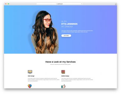 Resume Free Website Template