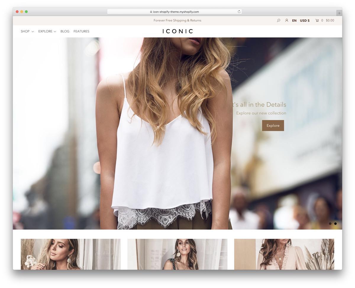 Retina Shopify Themes