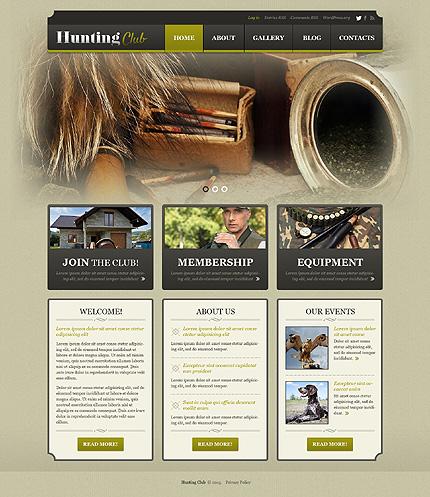 Hunting WordPress Theme