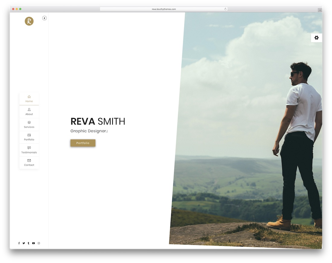 reva simple bootstrap template
