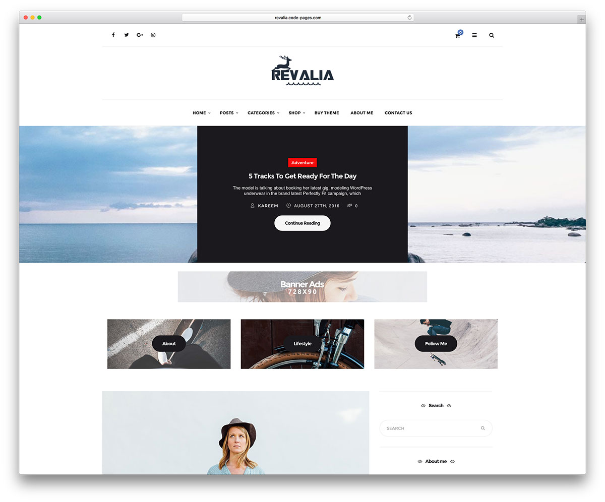 revelia-clean-wordpress-blog-template