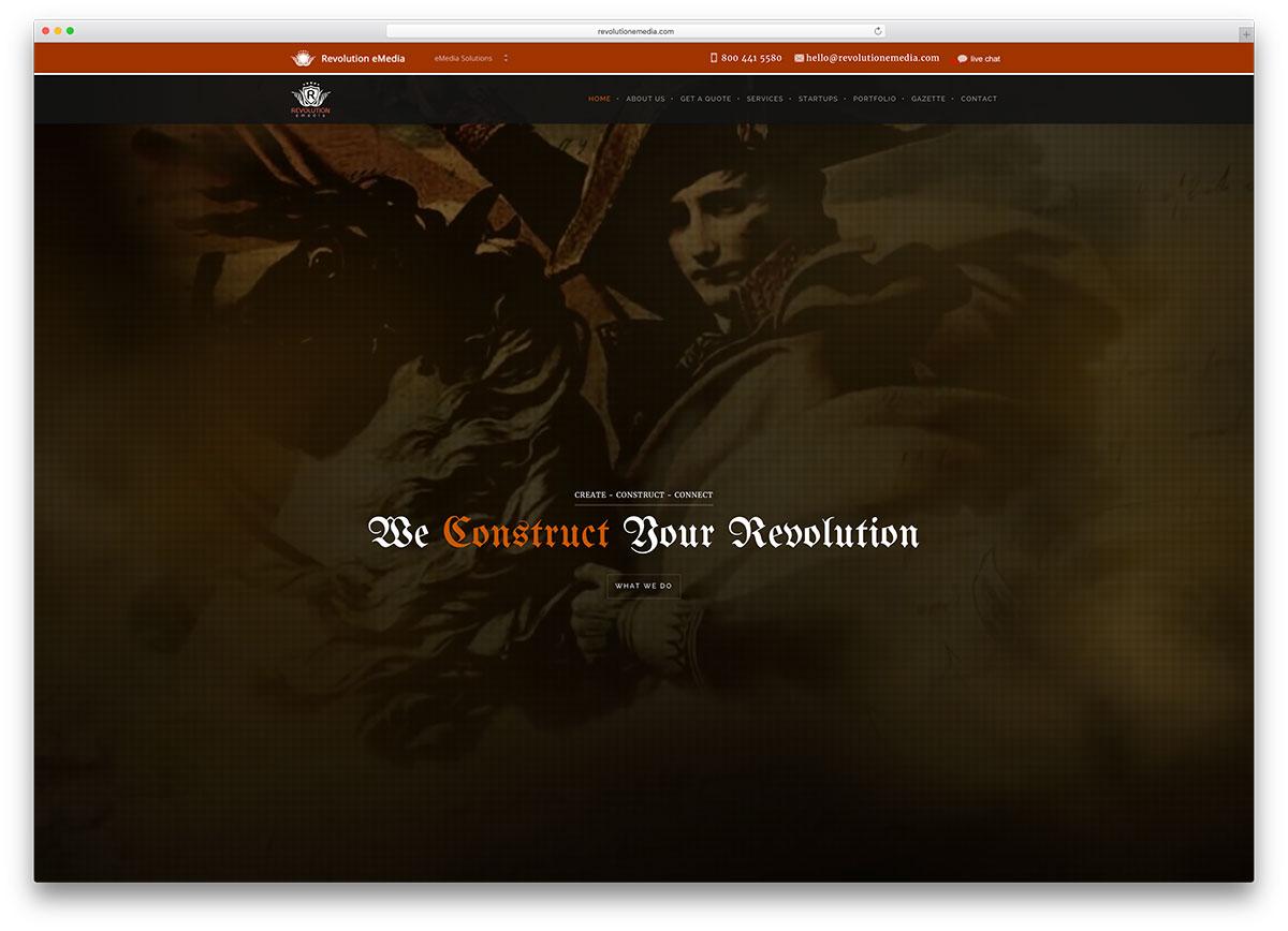 revolutionemedia-digital-media-service-site-example