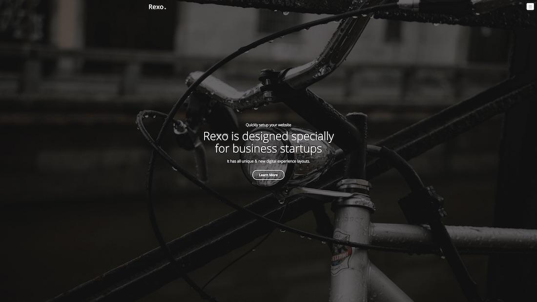 rexo mobile-friendly website template